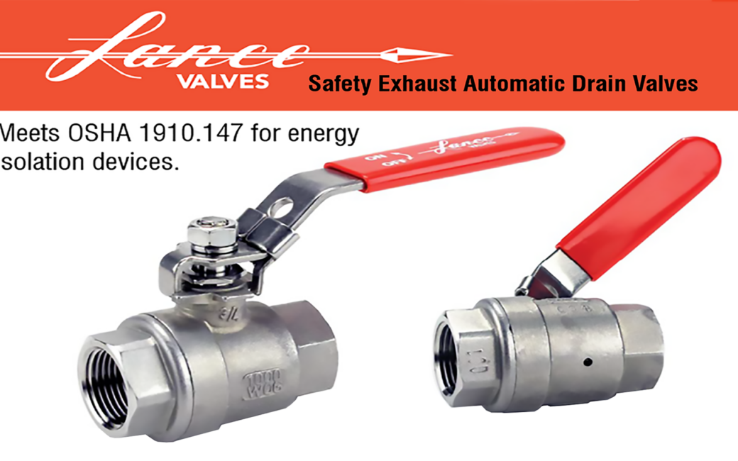 LANCE AUTOMATIC SAFETY DRAIN VALVE IN STAINLESS STEEL